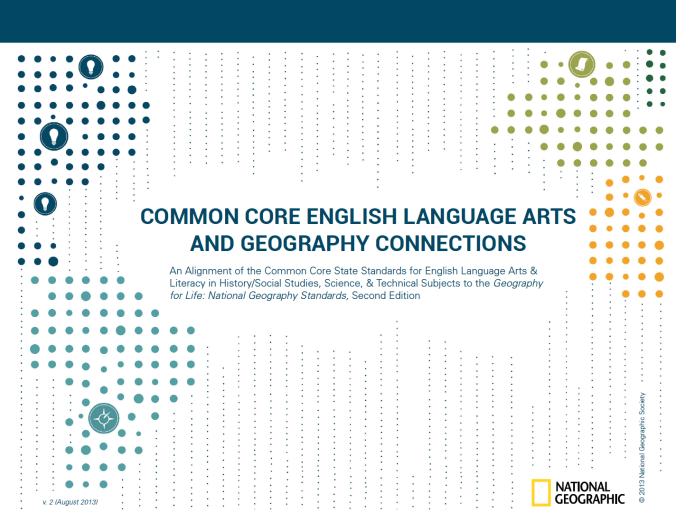 Common Core ELA and Geography Connections